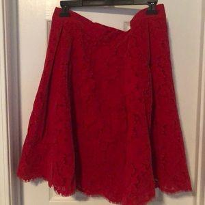 New York & Company Skirts - Red Skirt